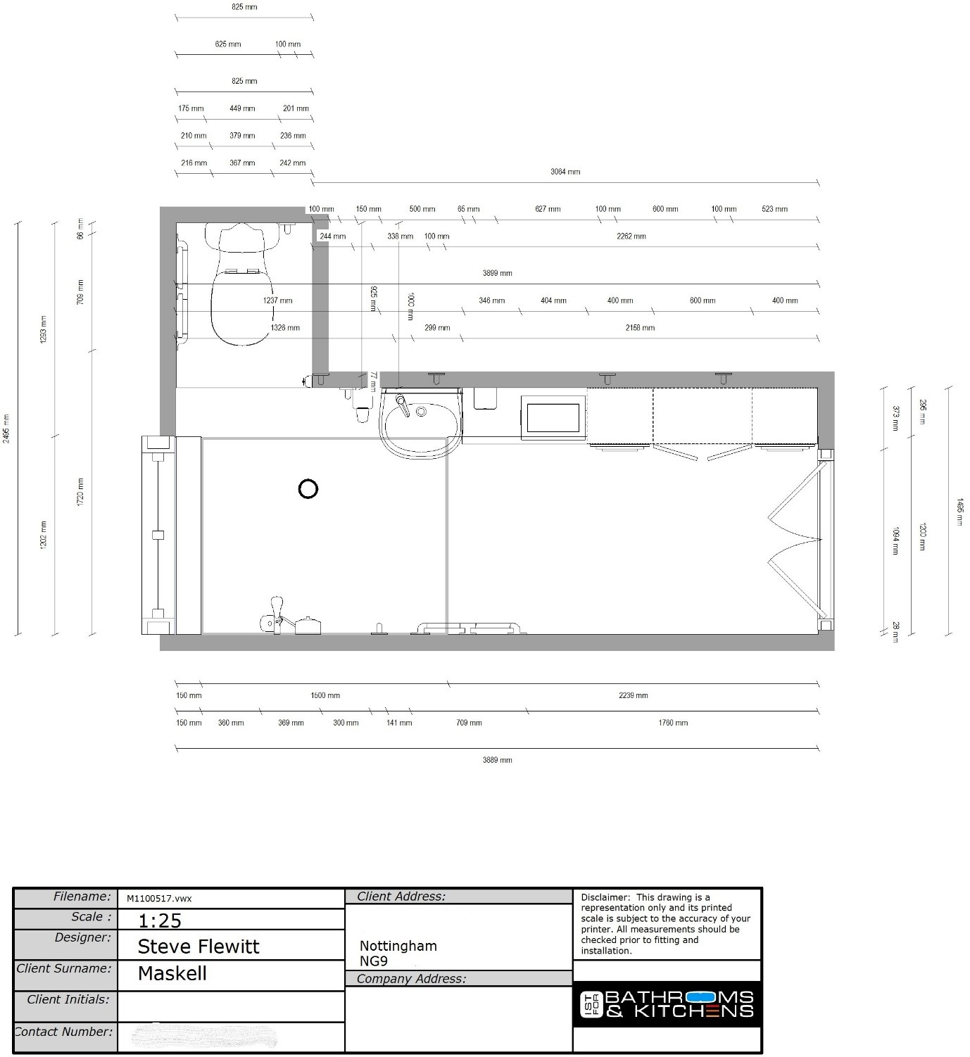 1st Bathrooms Planning