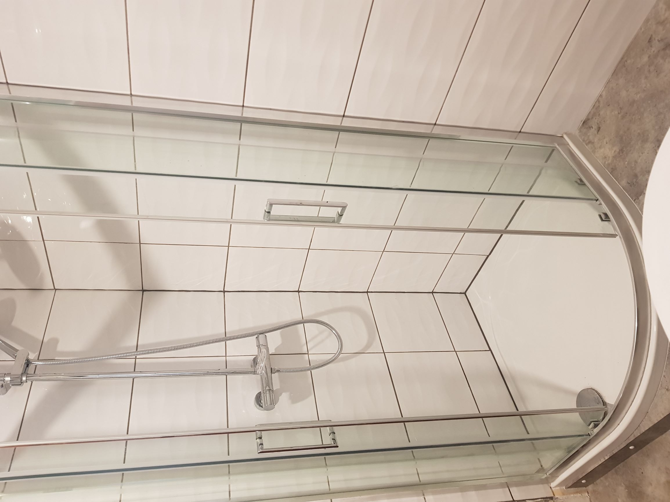 Makeover Shower room