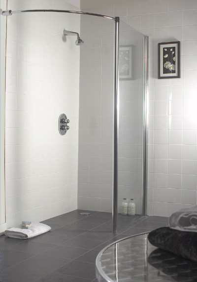 Simple Showers for wet rooms