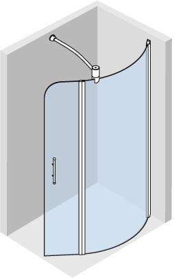 Wet room 3D design – 1