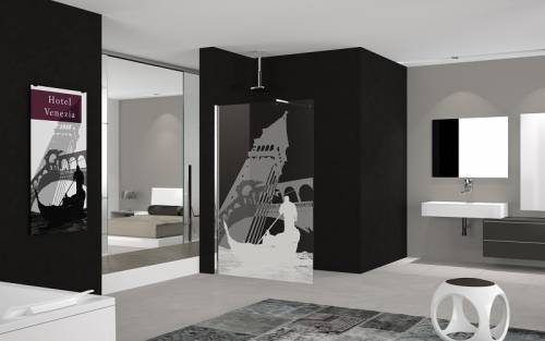 Quality Designer Shower Screens from Italy
