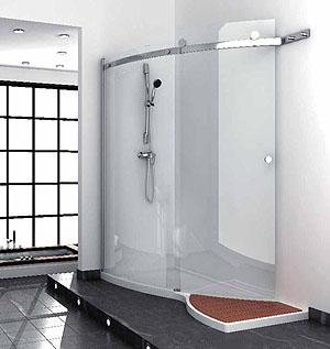 Quality Corner shower
